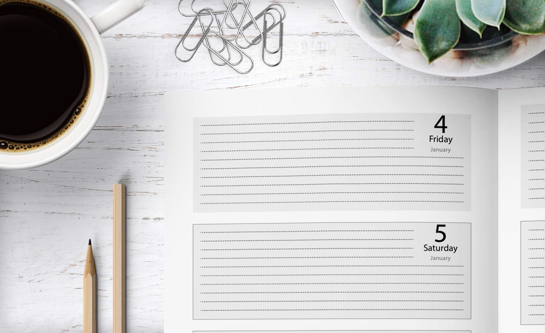 Weekly Planner 2019: Weekly Planner, Calendar and Schedule ...