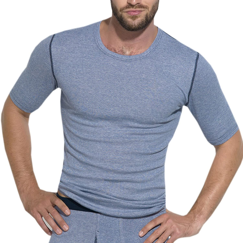 Ott-tricot Herren Shirt 1/4 Arm 100% gek. Baumwolle Öko-Tex Gr. M-3XL Unterhemd