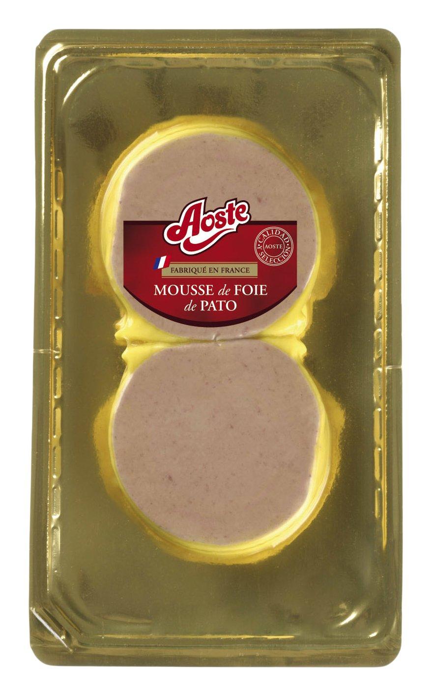 Aoste, Medallón Mousse de Pato. Paquete de 2x100 gr.: Amazon.es: Alimentación y bebidas