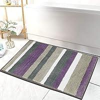 HEBE Bathroom Rug Mat Ultra Soft and Water Absorbent Bath Rug Bath Carpet Machine Wash/Dry Microfiber Bath Mat for Tub…