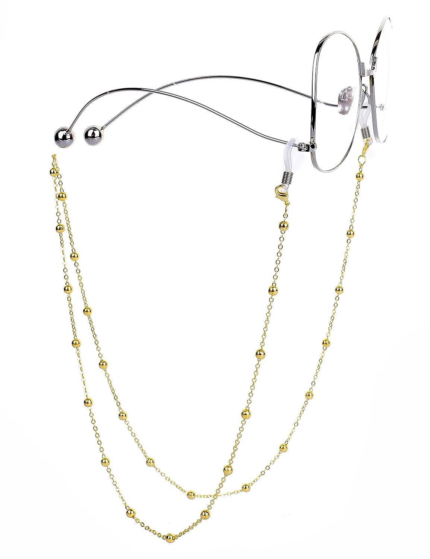 Mini Tree Brillenketten für Lesebrillen Perlen Brillen Cord Brillenband Damen Lesebrille Brille Kette Sonnebrillen Band Lesebrillen Kette Lesebrillen Band Brille Cords Hals Cord BC1002