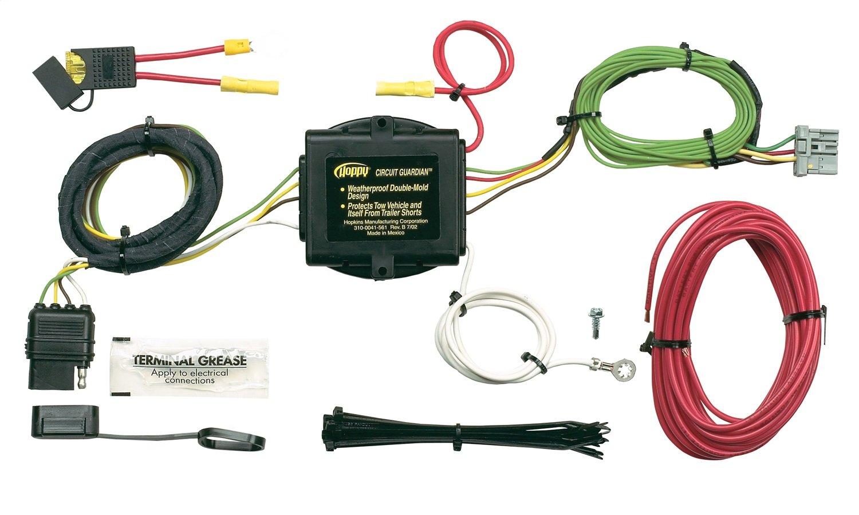 Amazon.com: Hopkins 43115 Plug-In Simple Vehicle to Trailer Wiring Kit:  Automotive