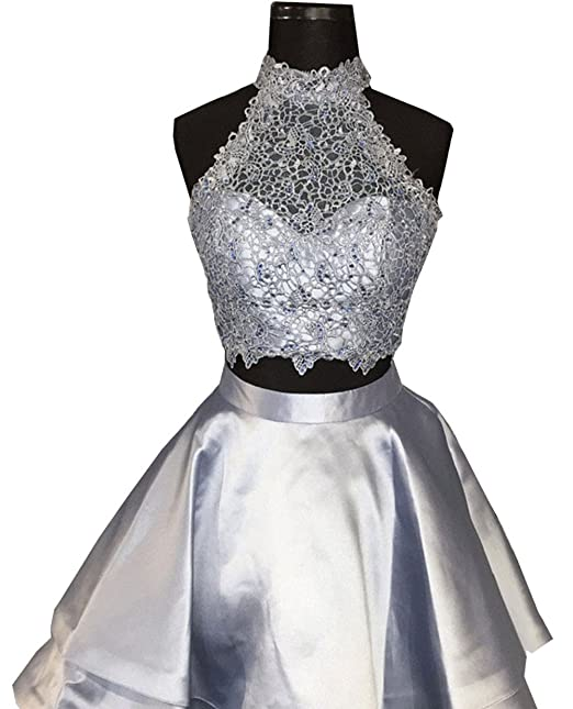 Review Halter High Neck Prom