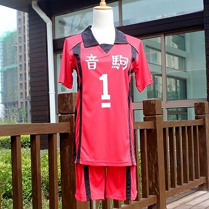 Haikyuu! Nekoma High School Uniform Jersey No.1 Tetsurou Kuroo Cosplay costume