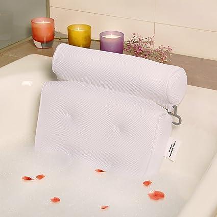 Bath-tub Pillow for Home Spa and Rest, Relaxation Bath tub Cushion ...