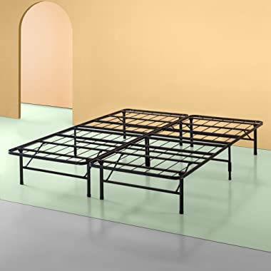 Zinus 14 Inch SmartBase Mattress Foundation, Platform Bed Frame, Box Spring Replacement, Quiet Noise-Free, Maximum Under-bed Storage, Cal King