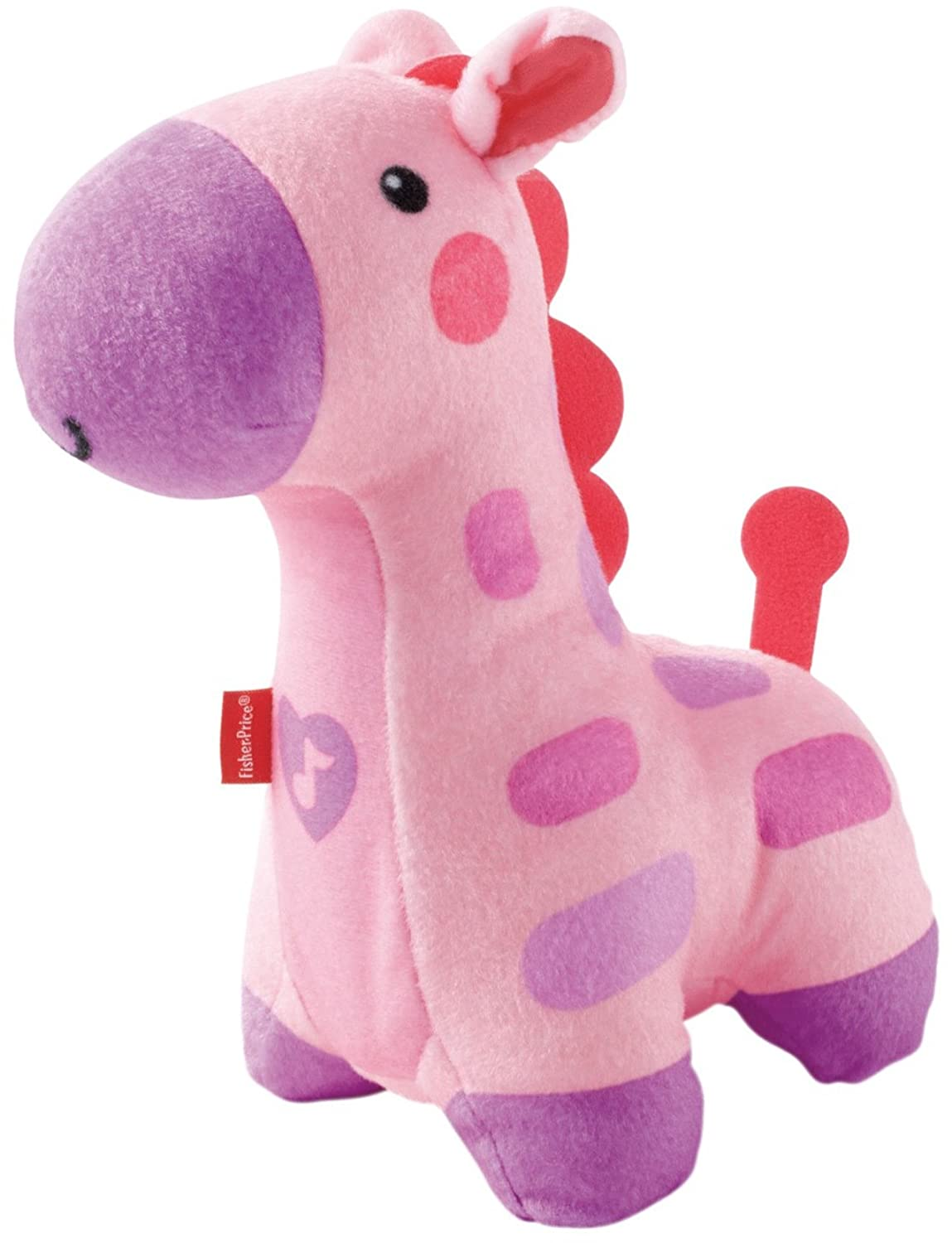 Fisher-Price Soothe and Glow Giraffe, Pink Mattel CFD15