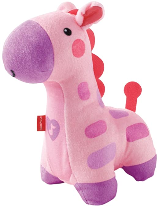 Fisher-Price Soothe and Glow Giraffe, Pink