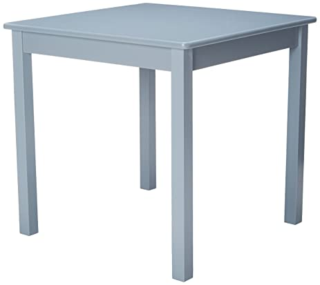 Lipper International 520G Childu0027s Table For Play Or Activity, 23.75u0026quot; X  23.75u0026quot; Square