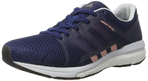 adidas Women's Adizero Tempo 8 SSF Running Shoes, Blue (Mystery Blue/Still  Breeze