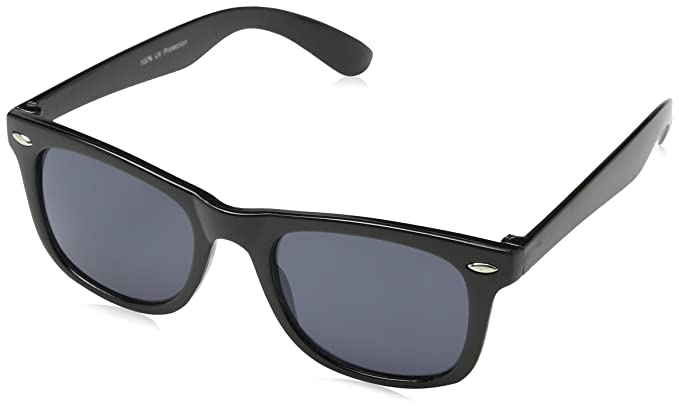 a85a5631f9c Black Clear Lens Retro 80 S Sunglasses  Amazon.co.uk  Clothing