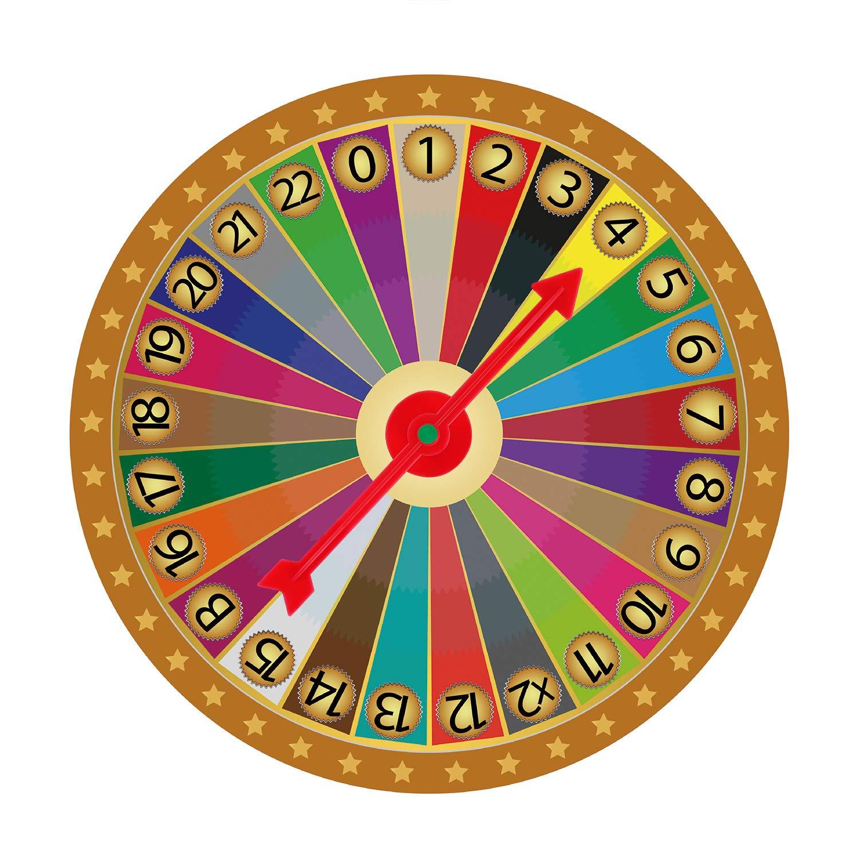 Chengu 4 Pulgadas de Flecha de Spinner de Juego de Plástico en 5 Colores para Escuela, Spinner de Juego de Tablero (25 Piezas)