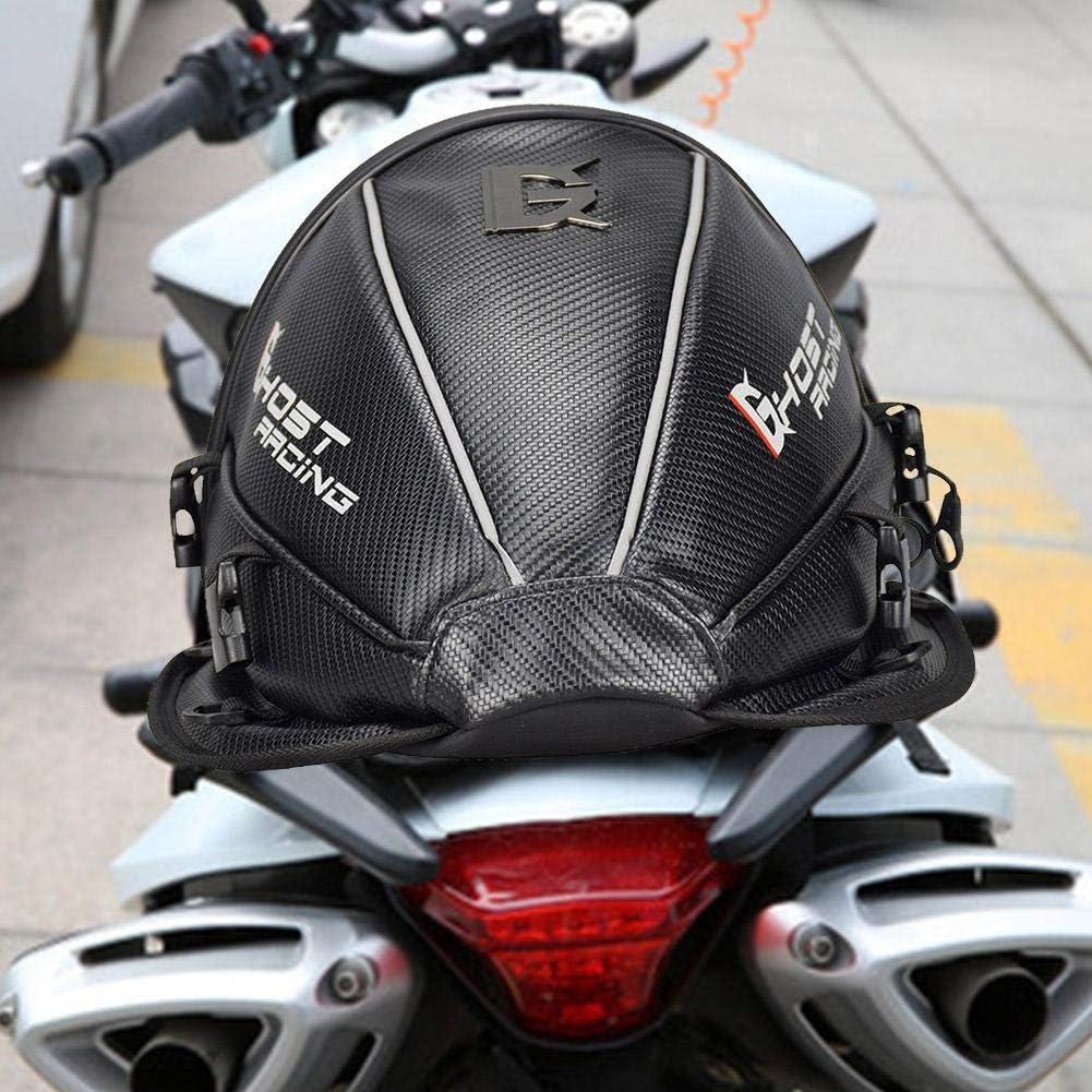 QueenHome Hecktasche Motorrad Mit Motorrad-Sitztasche Doppelter Einsatz Motorrad Rucksack Wasserdicht Gep/äck Taschen Motorrad Helm Tasche Aufbewahrungstaschen F/ür Motorr/äder