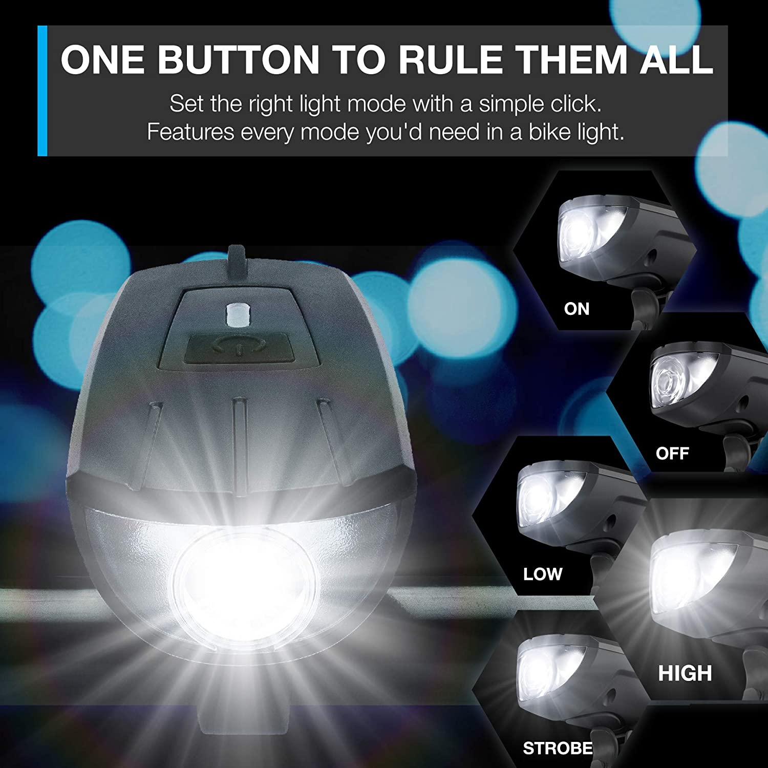 Installs In Seconds Without Tools Vont Bike Light