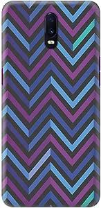 Stylizedd Oppo R17 Slim Snap Basic Case Cover Matte Finish - Deep Chevron