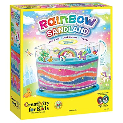 Creativity for Kids Rainbow Sandland - Make Your Own Sensory Sand Art for Kids - Arts and Crafts for Kids Age 6+: Toys & Games