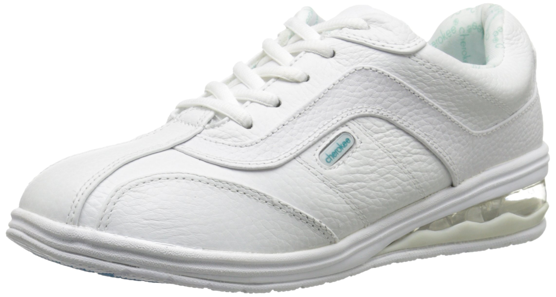 Cherokee Women's Springwave Work Shoe, White, 9.5 M US