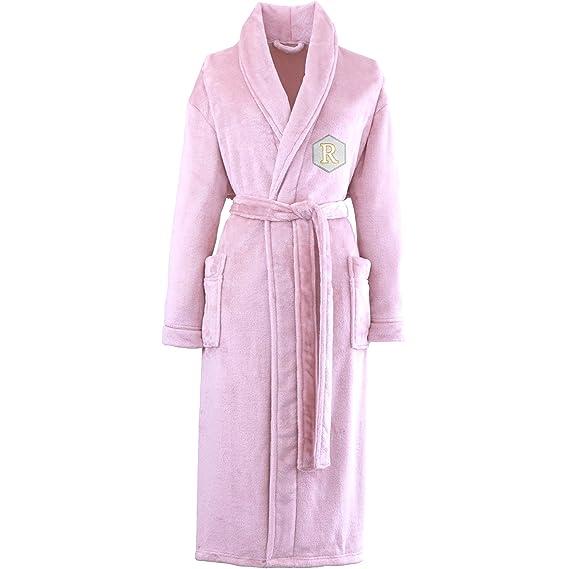 TeddyT\'s Women\'s Personalised Monogram Luxury Soft Touch Dressing ...