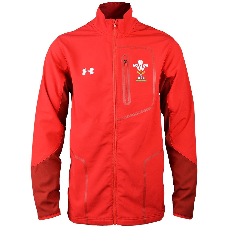 2018-2019 Wales Rugby WRU Presentation Jacket (Red) Under Armour