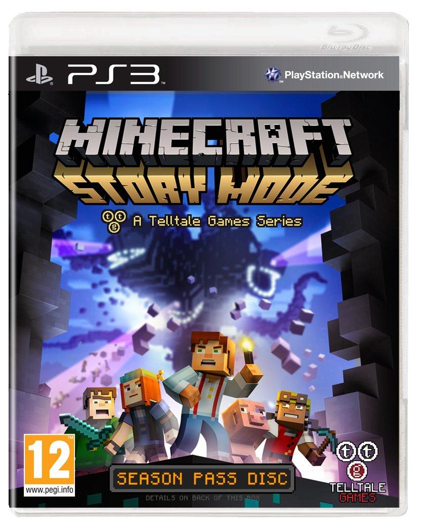 minecraft story mode a telltale game series season disc ps3