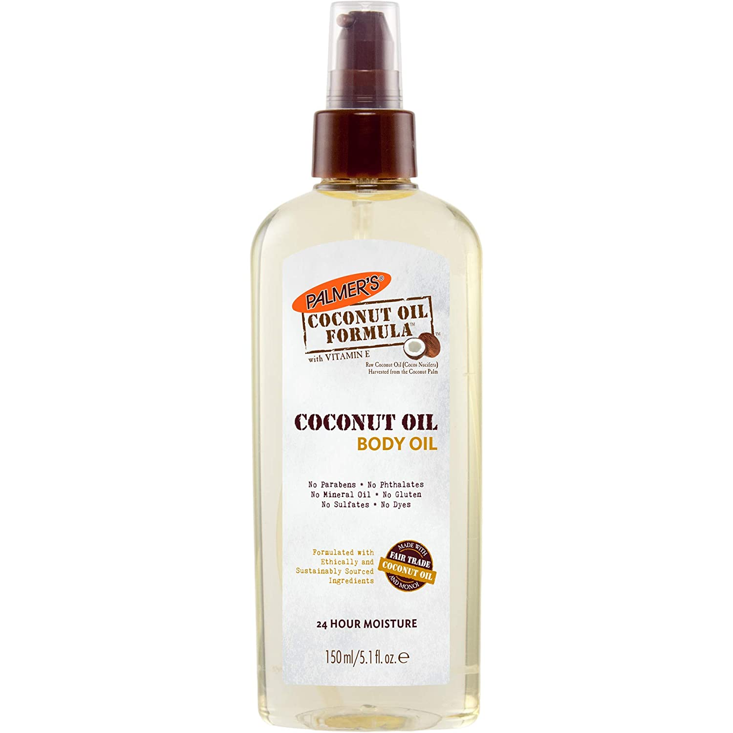 Palmer's Coconut Oil Formula Body Oil | 5.1 Ounce