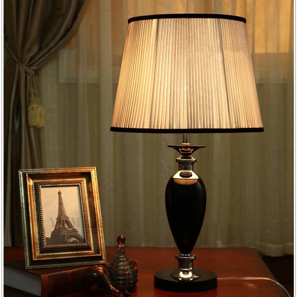 Guo Retro Tischlampe Kristall Tisch Lampe Wohnzimmer Europäische Stil Stil Stil Moderne Luxuriöse American Style Retro Bedside Schränke Tischlampe E27 Light Mouth B06XB335QD     | Konzentrieren Sie sich auf das Babyleben  1ab3a6