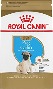 Royal Canin Pug Puppy Breed Specific Dry Dog Food, 2.5 lb. bag