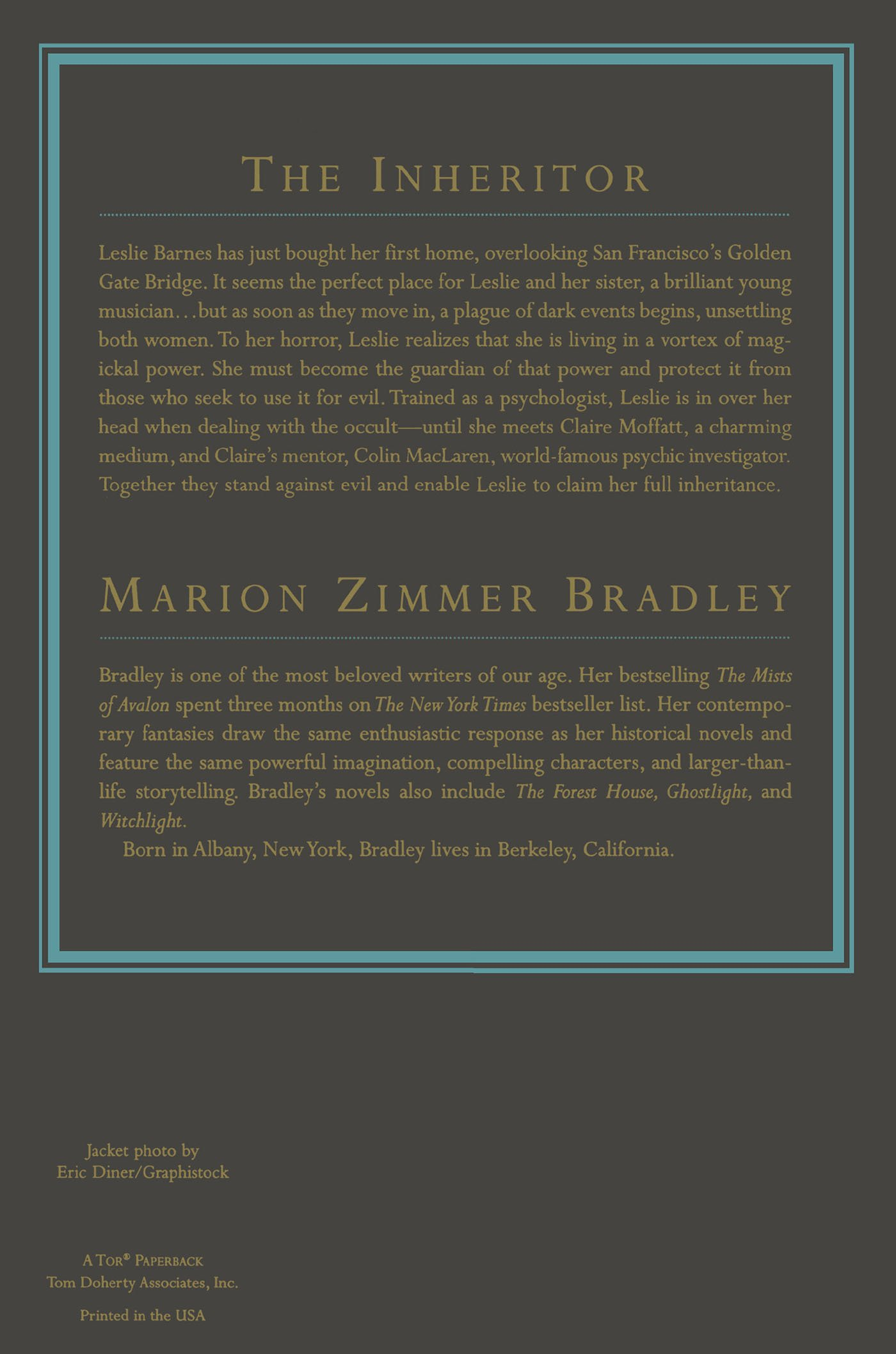 the inheritor marion zimmer bradley 9780312862930 amazon com books