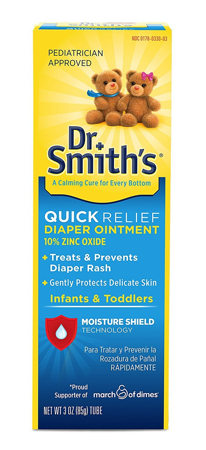 Dr. Smith`s Diaper Ointment 3 oz. (3 Pack)