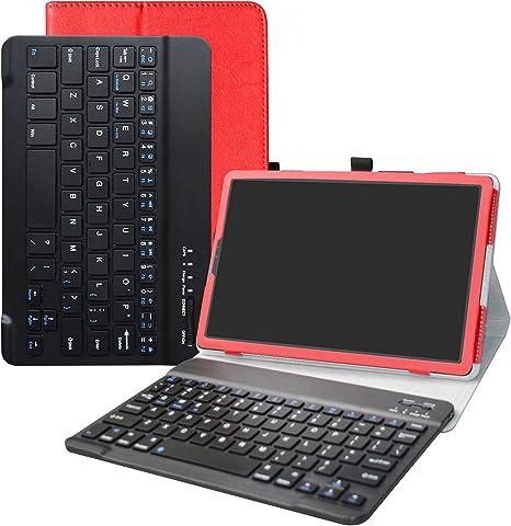 custodia con tastiera bluetooth per samsung galaxy tab