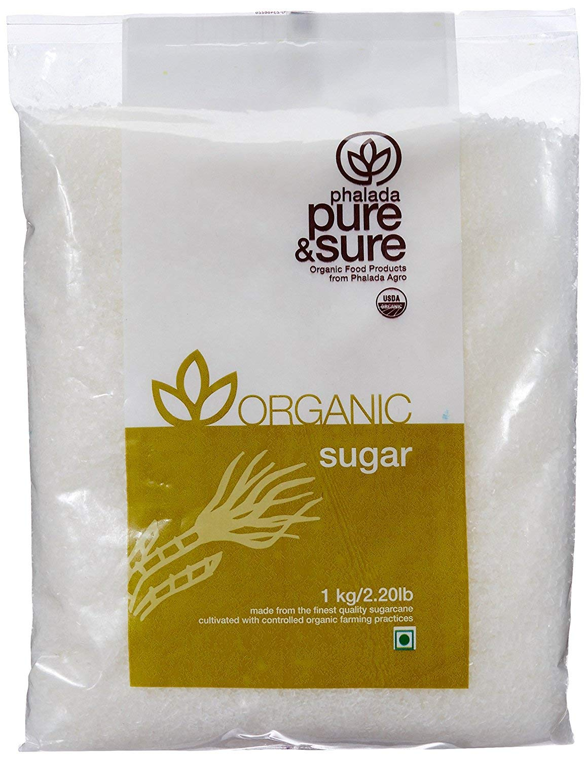 Pure & Sure Organic Sugar, 1kg