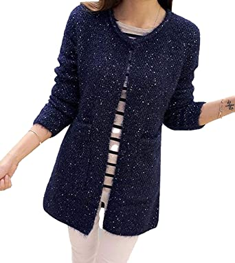 bd526b3b068 2018 New Spring&Autumn Women Casual Long Sleeve Knitted Cardigans ...