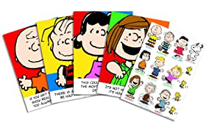 Eureka Peanuts Motivational Bulletin Board and Classroom Decorations for Teachers, 18 pcs