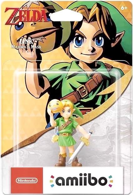 Nintendo - Figura Amiibo Link Majoras Mask Serie Zelda: Amazon.es ...