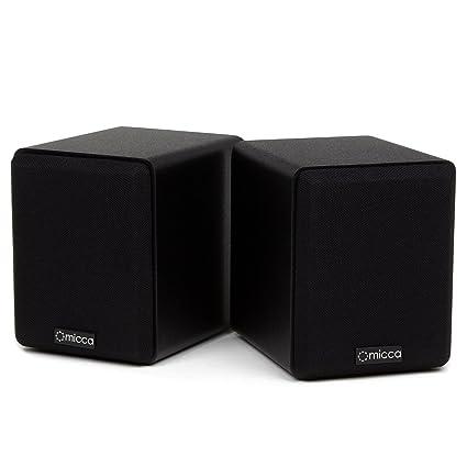 Micca COVO S Compact 2 Way Bookshelf Speakers