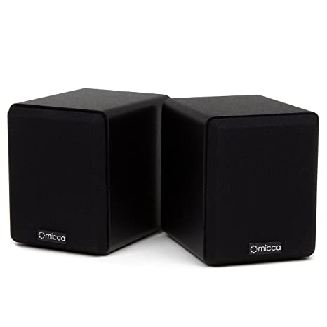Micca COVO S Compact 2 Way Bookshelf Speakers