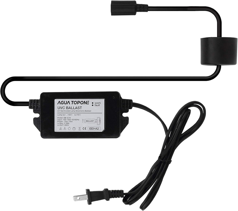 2 Pack Ballast For UV Lamps HQUA-OWS-455EB 120V 40W Electronic Ballast for HQUA-OWS-12//6 UV Water Sterilizer