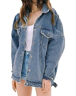 Veste en jeans femme oversize