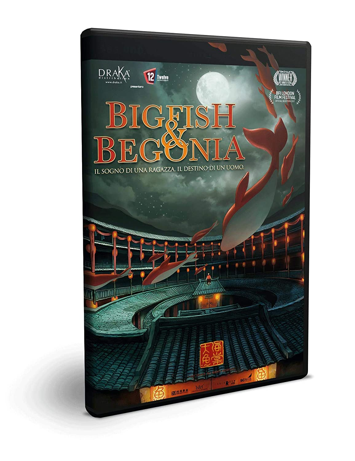 collection box BIG FISH & BEGONIA