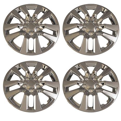 Juego de 4 cromado 16 pulgadas 2013 -14 Nissan Altima Lug pernos de rueda Hub