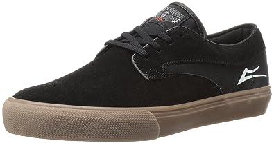 Lakai Men s Riley Hawk Skateboarding Shoe Black Gum Suede 7.5 ... 1024123a5