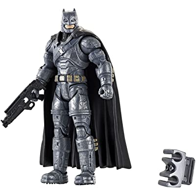 "Batman v Superman: Dawn of Justice Multiverse 6"" Batman Armor Figure: Toys & Games"