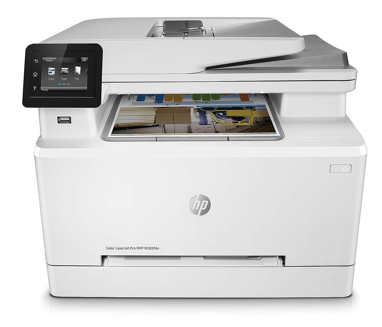 HP Color Laserjet Pro MFP M283fdn - Impresora láser (8.5 x ...