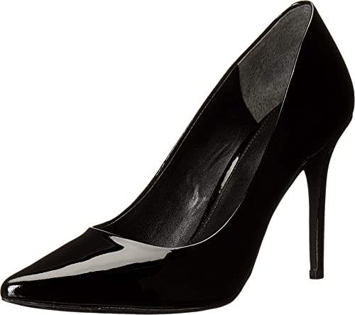 93fd786b331f MICHAEL Michael Kors Women s Claire Pump Black Patent Shoe  Amazon.ca  Shoes    Handbags