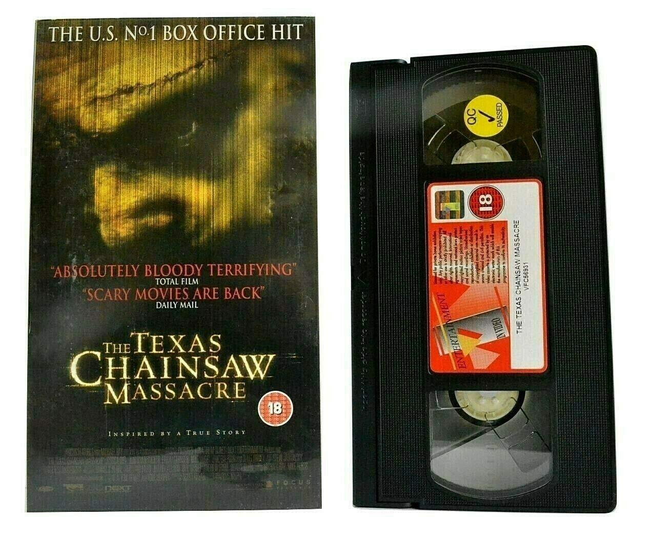 Texas Chainsaw Massacre [Alemania] [VHS]: Amazon.es ...