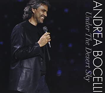 Andrea Bocelli: Under the Desert Sky Included