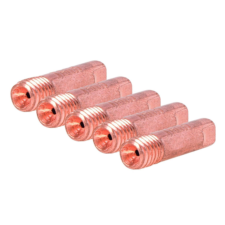 Silverline 406752 MIG Welder Contact Tips M6 5pk 0.8mm