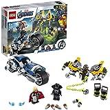 LEGO Super Heroes 76142 Avengers Speeder Bike Attack Building Kit (226 Pieces)