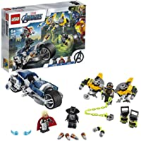 LEGO Super Heroes 76142 Avengers Speeder Bike Attack Building Kit (226 Pieces)