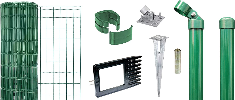 10 m 1220 mm anthrazit GAH-Alberts 633646 Fix-Clip Pro-Zaunset